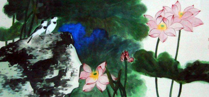 谢稚柳:富于诗意的画作