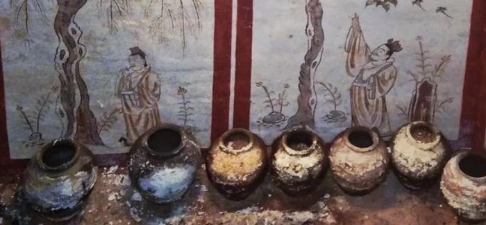 山西发现唐代壁画墓 墓主身份不寻常