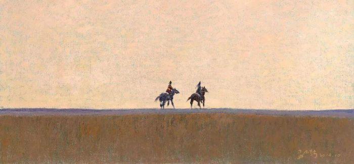 妥木斯油画展在西安当代美术馆开幕