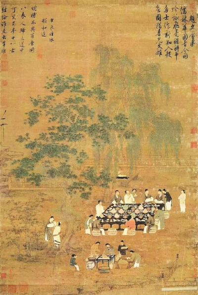 中国书画对传统文化生态的记录