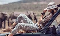 风靡时尚圈的非洲游猎装
