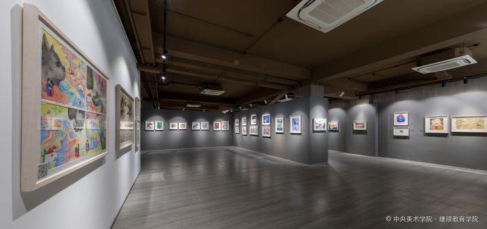 04、央美鲁信全国少年儿童绘画作品大赛优秀作品展-现场空镜3
