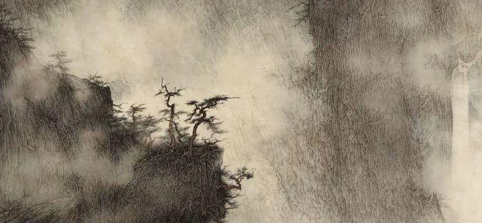 """在中国画中""""听""""雨"""