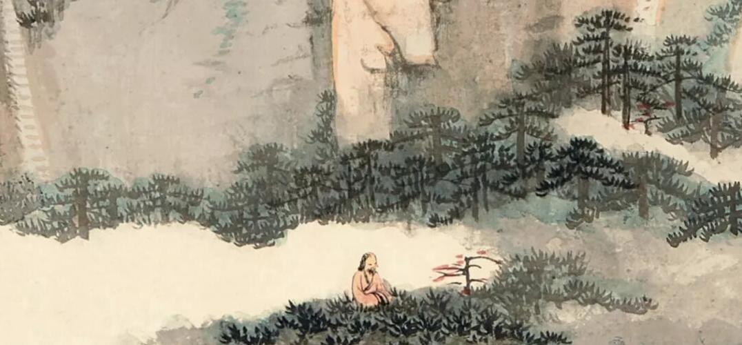 """""""陆羽茶室""""珍藏张大千画作上拍苏富比"""