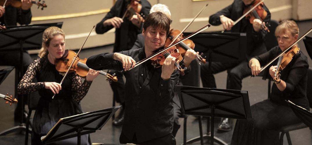 小提琴家贝尔携三百岁名琴奏响国家大剧院