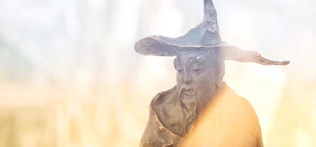 """""""超越时空的对话——吴为山雕塑作品展""""在凤凰中心举办"""