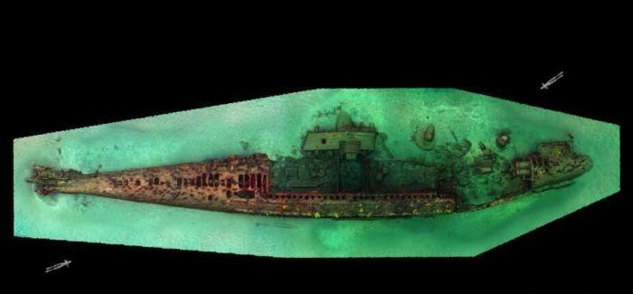 墨西哥水域现一战时期潜艇