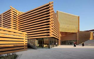 隈研吾新作OMM现代博物馆 让城市更加年轻有活力