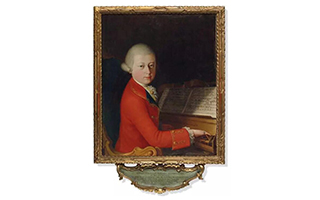 估价120万欧元 莫扎特肖像画上拍佳士得