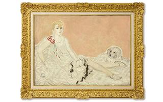 三幅裸女肖像画尽显东西合璧艺术语汇