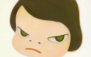 背后藏刀?奈良美智巨作登场苏富比当代艺术晚拍