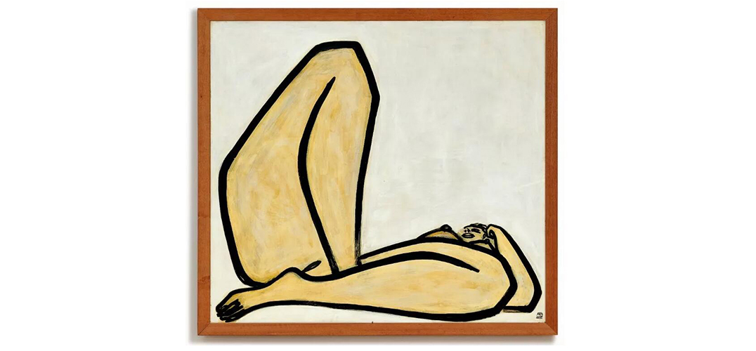 估价1.5亿港币 常玉裸女油画逾半世纪初登拍场