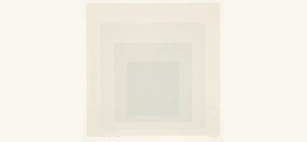 约瑟夫·阿尔伯斯:探索色彩的边缘