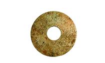 古朴雅致的汉代谷纹玉璧