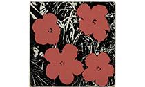 安迪·沃霍尔的三幅《花》上拍苏富比秋拍