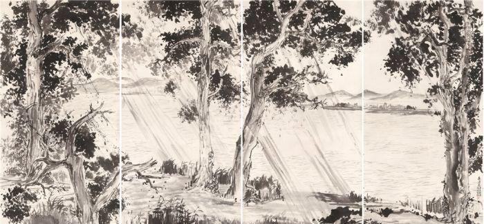 自在苏杭——林海钟中国画作品展