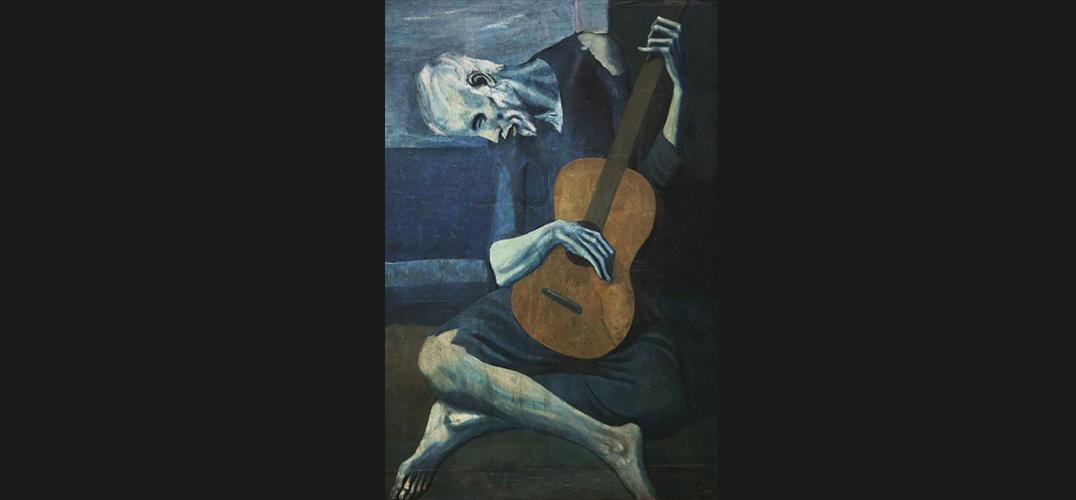 """毕加索的""""画中鬼影"""""""