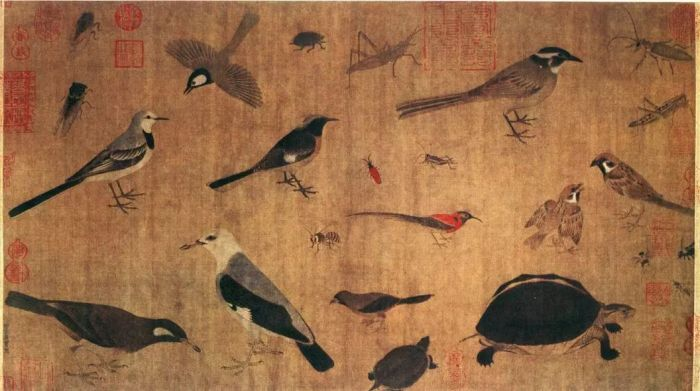 """故宫中的""""鸟语花香"""""""