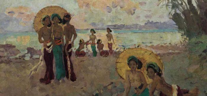 勒迈耶《凉棚下的女子》领衔现当代东南亚艺术晚拍