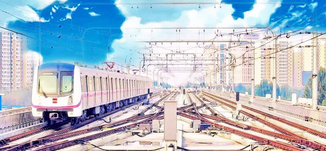 北京地铁惊鸿一瞥