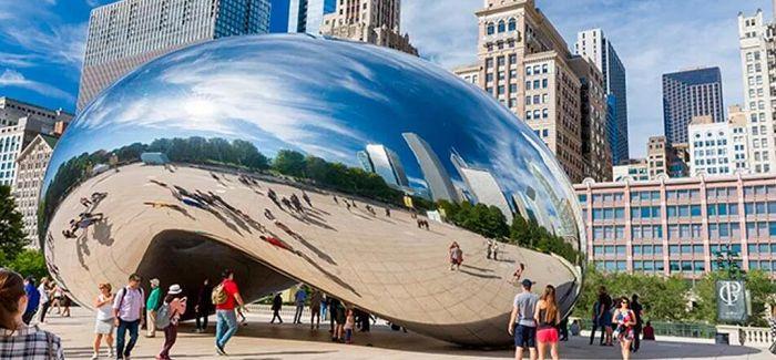 """""""云门""""里的芝加哥"""