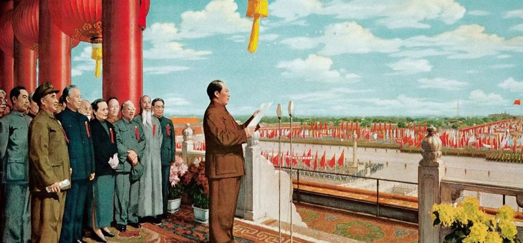 巨型命题油画《开国大典》的绘制