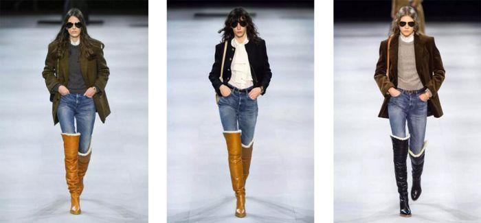 西装+牛仔裤 时尚就是一场轮回