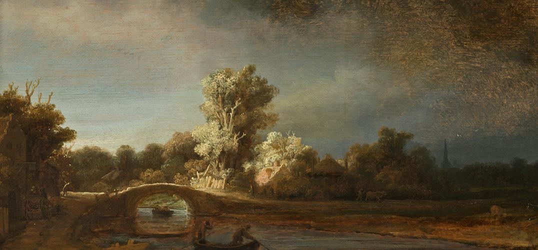 伦勃朗:朴实无华的绘画与时间共存