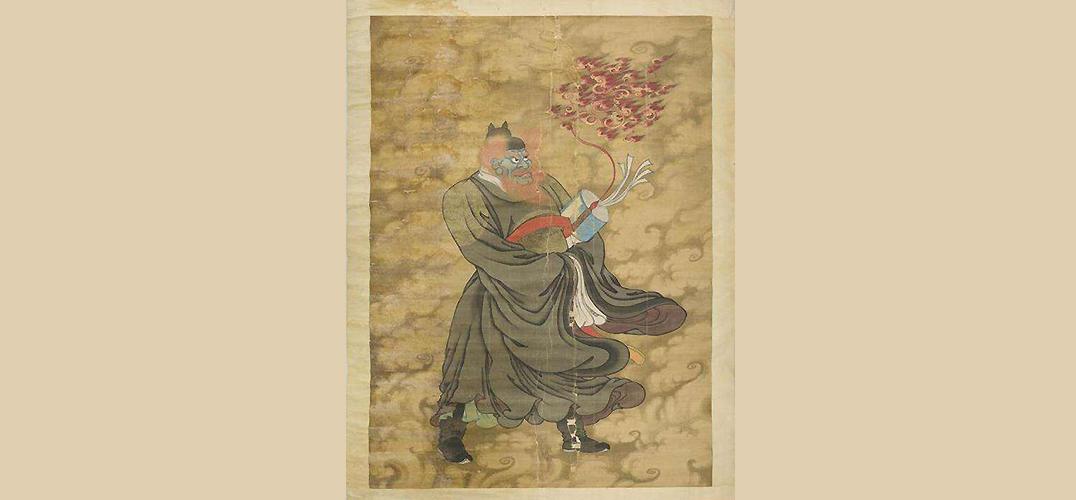 揭晓流落他乡的神秘中国古画的身世