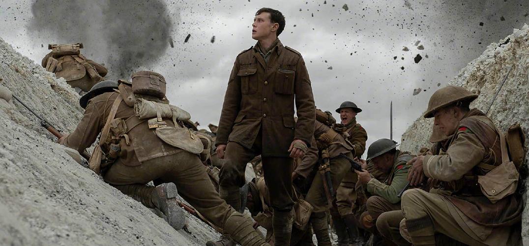 """《1917》挑战全片""""一镜到底"""""""