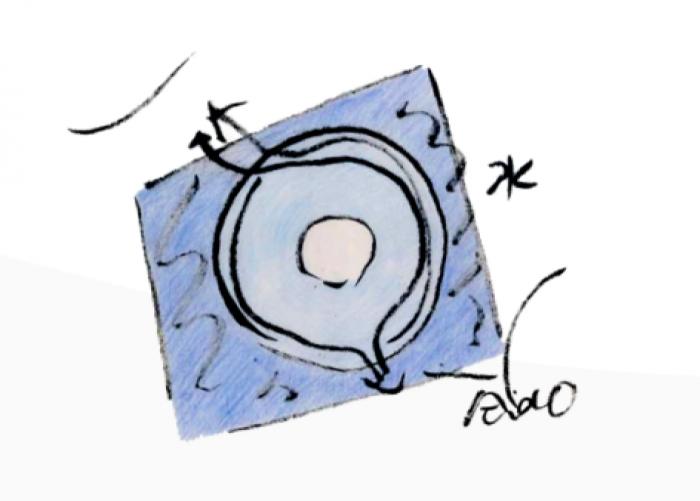 安藤忠雄设计和美术馆手稿3,©和美术馆