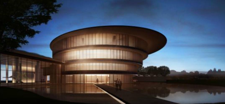 开在中国美食之最的城市顺德的美术馆将正式对外开放