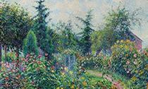 毕沙罗《花园和鸡舍》领衔印象派及现代艺术晚拍