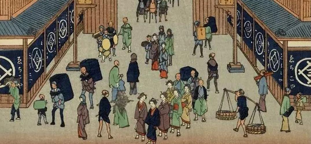 一百多年前的东京原来这么漂亮