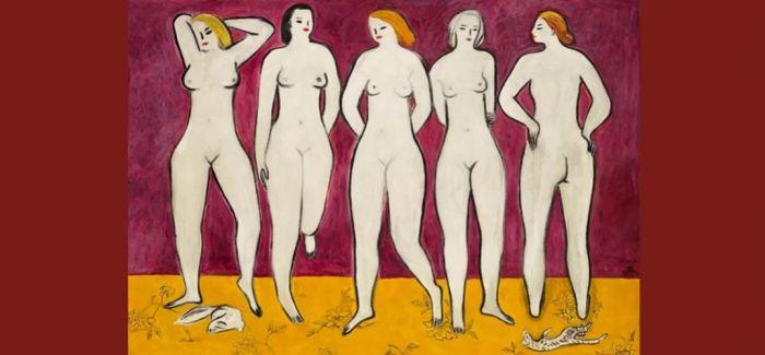 11月佳士得再拍常玉作品《五裸女》