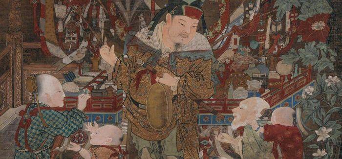 """古画之中 中国男人们的""""集体精致"""""""