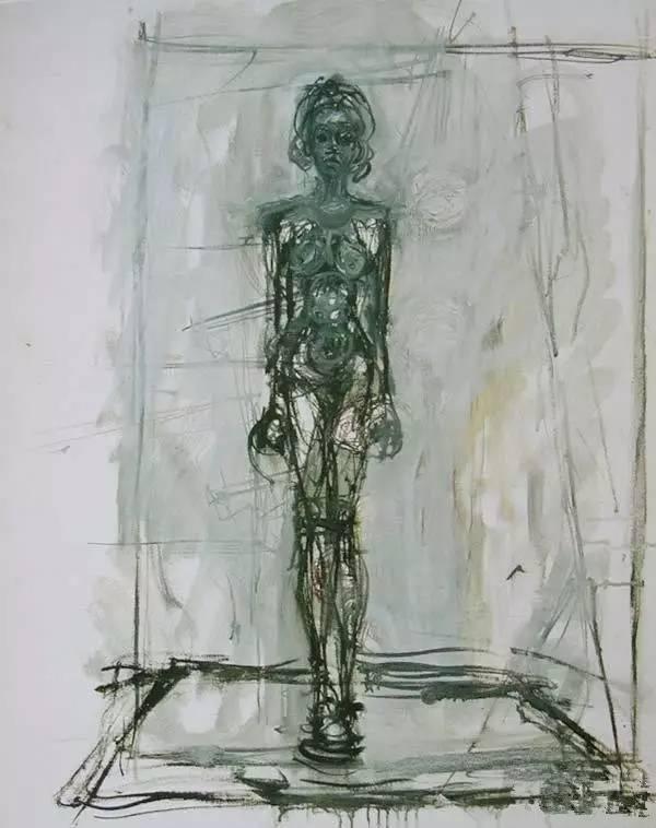 贾科梅蒂的绘画 你看懂了么?