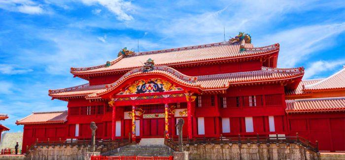 世界文化遗产日本冲绳首里城发生火灾