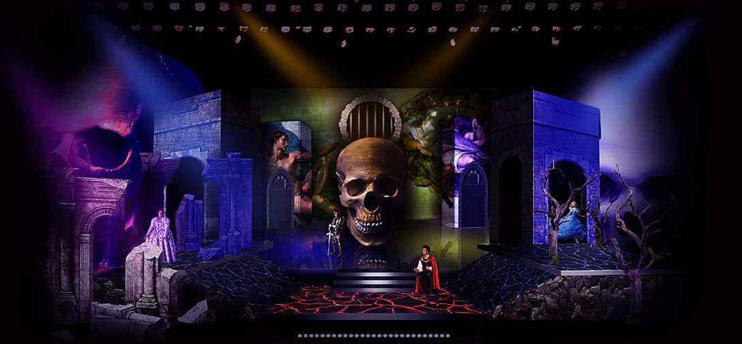 先锋版《哈姆雷特》亮相2019北京国际青年戏剧节