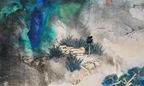 张大千诞辰120周年 香港秋拍呈献其数幅泼墨泼彩