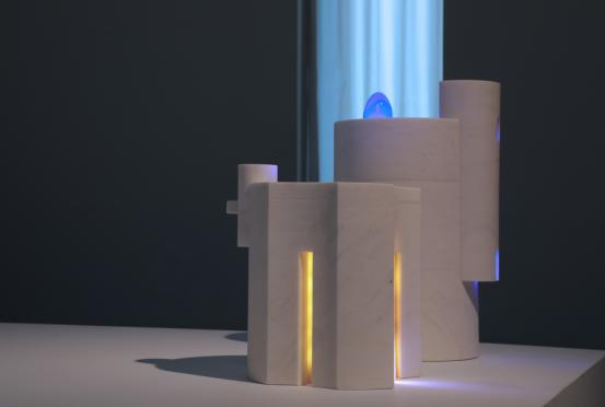 """王向荣""""弃石""""作品展:空间造化与光影幻化的极简艺术"""