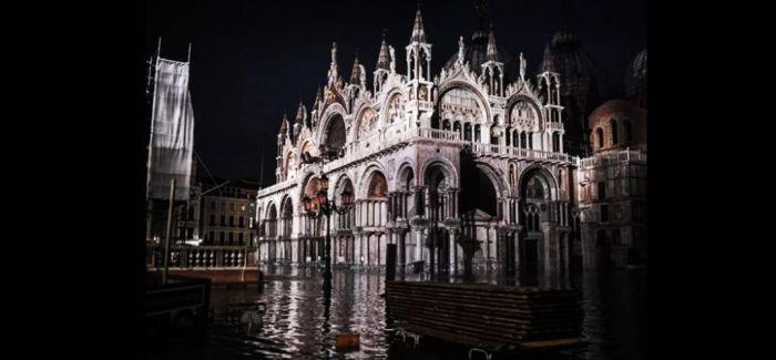 威尼斯双年展因洪灾临时关停多展馆