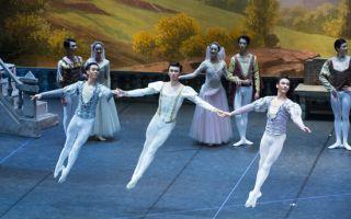 北京舞蹈学院在俄罗斯演出《天鹅湖》