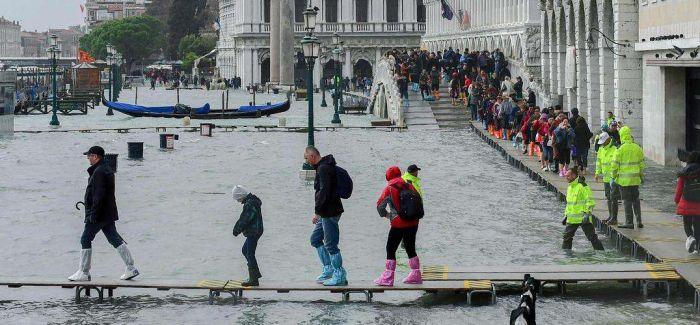 威尼斯双年展因洪灾临时关停多展馆 | 一周艺事
