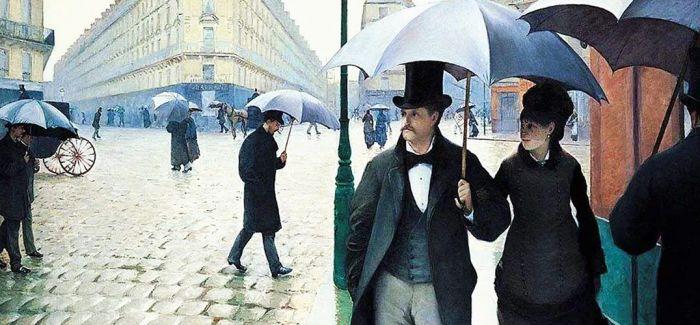 古斯塔夫·卡耶博特和雨中巴黎