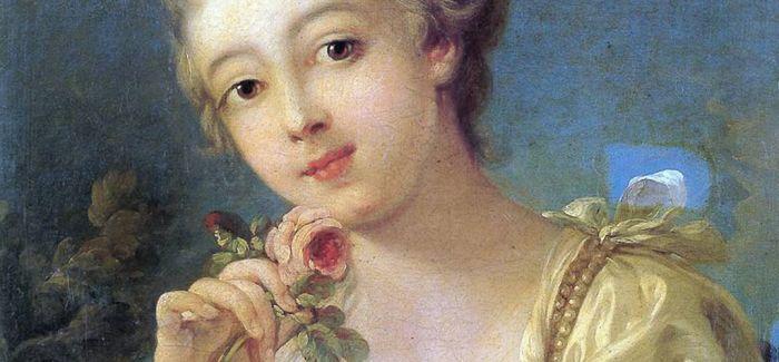 书画中的粉色:女孩的娇俏 男孩的可爱