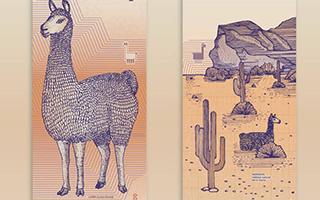 向生态致敬 阿根廷设计师用动物插画设计钞票