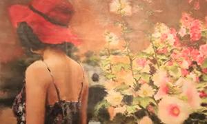 中法当代绘画艺术交流展在京开幕