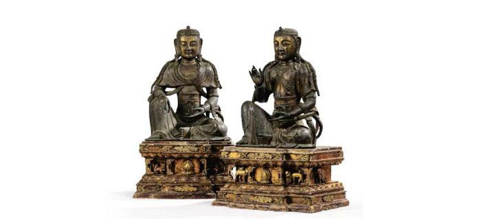 巴黎亚洲艺术拍卖会上拍比利时贵族旧藏