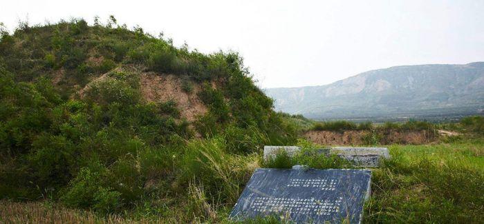 唐丰陵陵园遗址内发掘出乳阙遗址